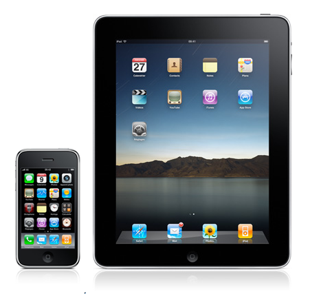 Photo d'un iPhone et un iPad pour jouer au bingo